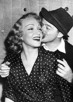 BILLY WILDER & MARLENE DIETRICH - 1948