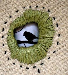 (via Details (eyelet embroidery) by Rebecca Sower, via Flickr … | Embroi…)