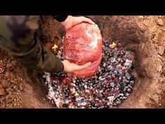 МЯСО 5КГ ОДНИМ БОЛЬШИМ КУСКОМ ЗАПЕЧЕННОЕ В ЗЕМЛЕ - YouTube Meat, Youtube, Recipes, Food, Apocalypse, Rezepte, Food Recipes, Youtubers, Meals