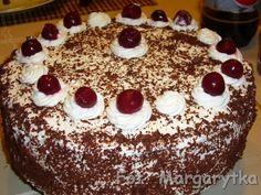 Kulinarne szaleństwa Margarytki: Tort szwarcwaldzki popularnie zwany czarnolas, a w...