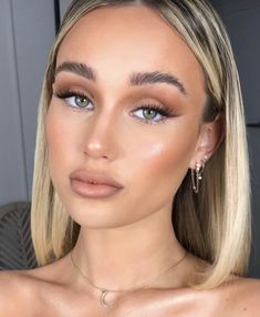 Beauty Skin, Beauty Makeup, Eyeliner, Eyeshadow, Hazel Eyes, Makeup Looks, Beautiful Women, Make Up, Skin Care