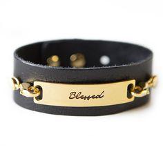Blessed Bracelet - Black / Gold
