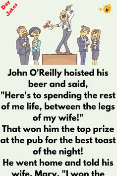 Good Jokes To Tell, Wife Day, Best Toasts, Joke Stories, Comedian Quotes, Anime Sketch, I Win, Comedians, Of My Life