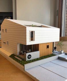Architecture Building Design, Pavilion Architecture, Modern Architecture House, Concept Architecture, Japanese Modern House, Modern Small House Design, Sims, Japan House Design, Small Villa
