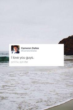 Cameron Dallas :)