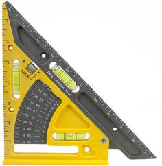 NEW-CH-Hanson 3065-Pivot-Square-Layout-Guide-Tool-Angle-Finder-Level-Pitch-Roofing