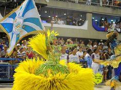 11 fev 2013, Rio de Janeiro - O primeiro casal de mestre-sala e porta-bandeira da Unidos de Vila Isabel, campeã do Carnaval 2013 no Rio. Foto: Luiz Roberto Lima / Futura Press.