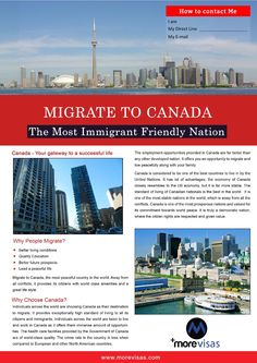 Canada immigration can be your priority when compared to other countries. If you want to excel in your career or if you want to earn a great salary in less tim… Immigration Au Canada, Migrate To Canada, Trip Advisor, Travel Advisor, Service Canada, Moving To Canada, Overseas Education, Canadian History, New Brunswick