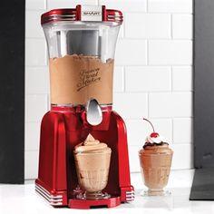 2 In 1 Retro Slushie And Soft Ice Cream Maker