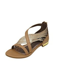 Sandalette, taupe