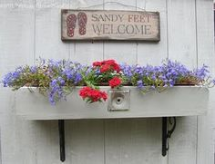 Husband needs to build this window box for me.