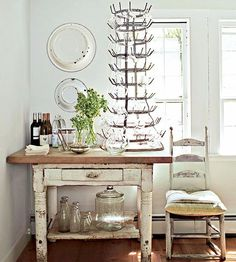 No, this blog post is not about medieval torture devices. This blog features a common household item used in almost every French Ch....rustic French farmhouse style