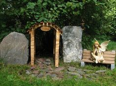 ~ When you prepare a dwelling for the fae in your home or in your garden, you proclaim that you believe...this welcome mat at the door of your heart is clearly seen by the magic ones. ~ :)