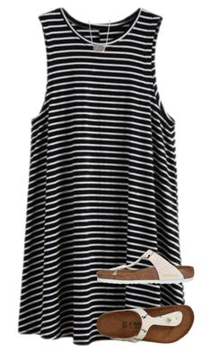 36 The Best Striped Dress Outfit Ideas For Summer - Fashionmoe Cute Teen Outfits, Dope Outfits, Outfits For Teens, Dress Outfits, Summer Outfits, Fashion Outfits, Summer Clothes, Women's Fashion, Striped Dress Outfit