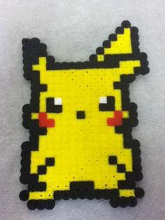 -Perler- Pikachu by ~OtakuLuka on deviantART