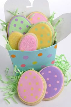 Easter Sugar Cookies Repinned By:#TheCookieCutterCompany