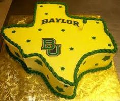 #Baylor grooms cake (or birthday cake)