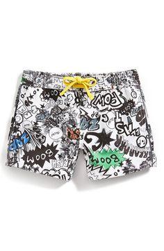 Stella McCartney Kids 'Taylor' Swim Shorts (Baby Boys) available at #Nordstrom