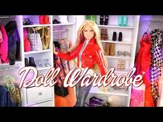 How to Make a Doll Wardrobe - Doll Crafts. By request: Need more space for your Dolls Clothes? Check out this Fabsome and Fun to make Doll Wardrobe! Support My Froggy Stuff on Patreon: . Our Second Channel: . Barbie Doll House, Barbie Clothes, Barbie Dolls, Barbie Wardrobe, Diy Wardrobe, My Froggy Stuff Videos, Diy Zelt, Barbie House Furniture, Doll Furniture