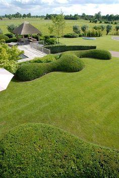 Topiary. Greenon green