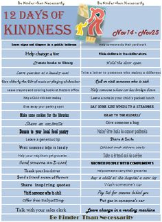 Yes..We all try and practice Kindness every day, but this is an opportunity to focus on reaching out, and helping those we would not normally. An opportunity to join an event that can change your c...