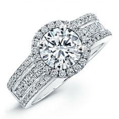 Cheap Engagement Rings White Gold Diamonds Princess 46