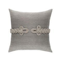 Cadet Frog's Clasp Pillow