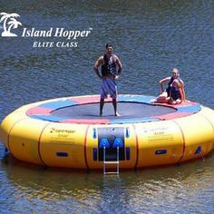 20' Acrobat Water Trampoline. Shop now - Free Shipping!