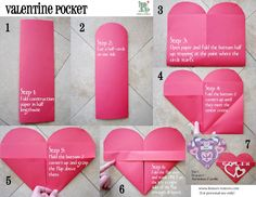 Valentine's craft that is also useful (decoration and a pocket to hold valentines). Great in classrooms, too.