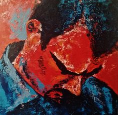 I DID NOT GIVE UP YET, Polish contemporary painting by Jacek Sikora