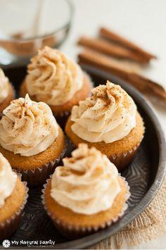 Snickerdoodle Paleo Cupcakes Recipe
