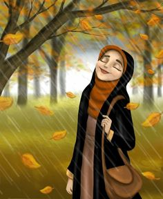 Cute Cartoon Pictures, Girly Pictures, Muslim Couple Photography, Hijab Drawing, Islamic Cartoon, Anime Muslim, Hijab Cartoon, Cute Love Gif, Islamic Girl
