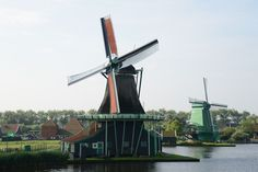 Tourist routes of Holland