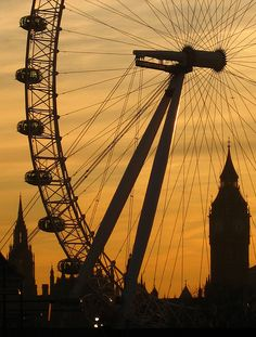 The London Eye, London. I would even get over my fear of heights and ferris wheels to go on this.