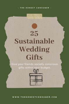 Heading to a wedding soon? Consider getting the newly wed couple a gift made with love! These ethical wedding gifts are all under $100 and focus on sustainable, fair trade, & eco-friendly values. The newly wed couple is sure to love an ethical wedding gift that shares a story. #weddinggift #uniqueweddinggift #giftideas #sustainablegifts #sustainablegiftideas #wedding #sustainablewedding Unique Gifts For Couples, Unique Wedding Gifts, Couple Gifts, Sustainable Wedding, Sustainable Gifts, Sustainable Fashion, Newly Wed, Fair Trade, Sustainability