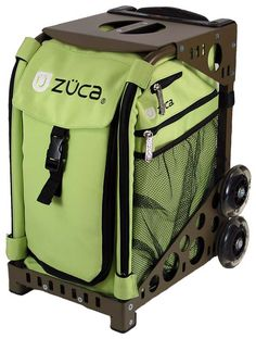 Okay, so I totally want this bag! You can customize the color of the bag, frame, and you can even choose the organizing bags that go inside. This is a great alternative to the typical - teacher rolling cart. I'm getting this if I'm ever put on a cart!