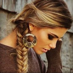Jolie coiffure simple