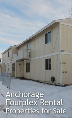 Anchorage fourplex rental income multi-family homes for sale Rental Property, Property For Sale, Alaskan Homes, Multi Family Homes, Shed, Real Estate, Outdoor Structures, Outdoor Decor, Blog