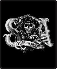 Sons of Anarchy Fear the Reaper Fleece