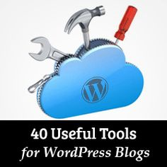 Want to know the must have tools for your blog? Check out our list of 40+ useful tools to manage and grow your WordPress blog.