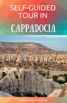 How to visit Cappadocia, Cappadocia by car, Cappadocia travel guide. things to see in Cappadocia. #traveltips #travel #travelblog #turkey #cappadocia