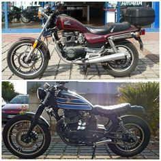 CB450 nighthawk to scrambler