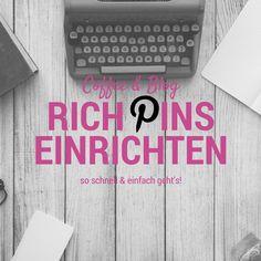 COFFEE & BLOG: Rich Pins einrichten auf Pinterest - so geht's!
