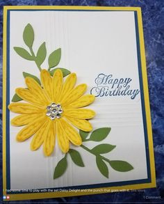 Stampin Up - Daisy Delight