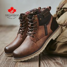 Smarter Shopping, Better Living! Aliexpress.com Mens Snow Boots, Mens Ankle Boots, Men Boots, Casual Boots For Men, Men Casual, Leather Chelsea Boots, Leather Men, Leather Boots, Men's Shoes