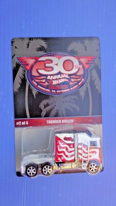 Hot Wheels 30th Annual Collectors Convention Thunder Roller   #HotWheels #thunderroller