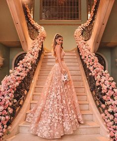You can never have too much blush pink! The perfect dress will make you a real goddess! ✨💕 Double tap if you love this bridal style . Formal Wedding Guests, Wedding Guest Gowns, Elegant Wedding, Gift Wedding, Wedding Things, Wedding Ideas, Prom Dress Two Piece, The Dress, Bridesmaid Dresses