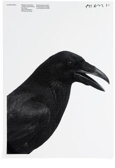 Garden Birds poster, Jonathan Ellery, Browns Editions, Art, Browns Design