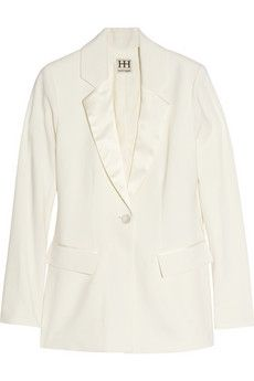 Haute Hippie | Stretch-wool tuxedo blazer | NET-A-PORTER.COM - StyleSays