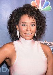 Melanie Brown Short Curls